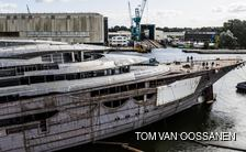 First glimpse of 116m Lurssen superyacht 'Project Testarossa'