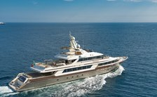 Recently refitted 46m motor yacht CLOUD ATLAS (formerly INEKE IV) now available for Mediterranean charter