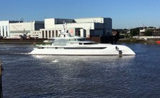 EXCELLENCE superyacht underway
