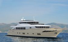 Superyacht GATSBY on water