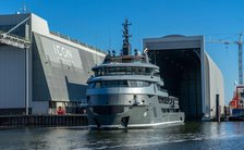68m explorer yacht RAGNAR begins sea trials