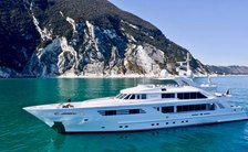 Superyacht Alalya: New to the fleet for yacht charters around Croatia