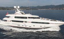 Freshly refitted 45m motor yacht AUDACES joins Bahamas charter fleet