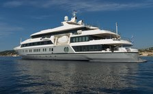 72m superyacht SERENITY with last-minute availability for July
