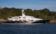 Last chance to charter 55m motor yacht CHANTAL MA VIE