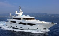 Monaco Grand Prix charter special: last-minute availability for  43m motor yacht HANA
