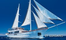 Sailing yacht CORSARIO offers Croatian charter discount