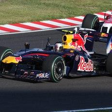 Vettel racing at the German Grand Prix