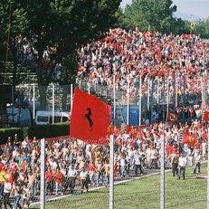 The Tifosi at the Italian Grand Prix