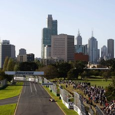 The Albert Park street circuit