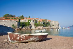<p> Anchor off the coast of Montenegro and spend an afternoon relaxing on one of Sveti Stefan&rsquo;s famous pink tinged beaches, backed by wild forested vistas.</p>