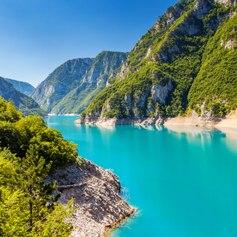 Piva Canyon Montenegro