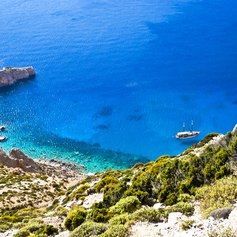 Spectacular Coastline of Skyros Island