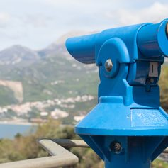 Viewing Point Over the Adriatic