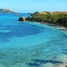 Tropical Fiji islands