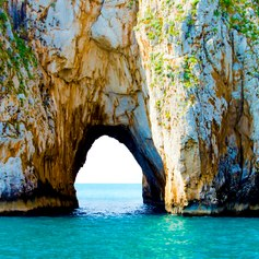 You can discover many secret coves