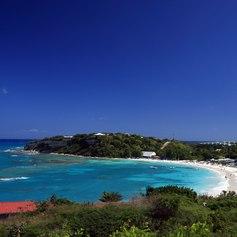 White Antigua beach