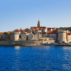 Cruise to Korcula Town