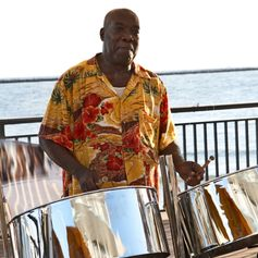 The Sound of Steel Drums in the Caribbean