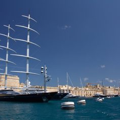Anchor at Malta's Grand Harbour
