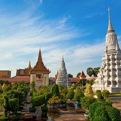 Royal Palace with beautiful big garden