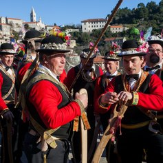 Pokladari at The Lastovo Carnival