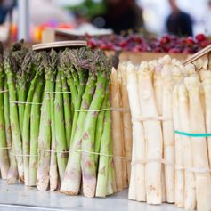 Fresh food markets for inspiration