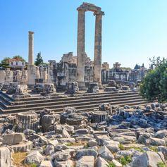 Marvel at the Temple of Apollo in Didim