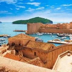 Dubrovnik old port