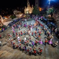 Lastovo Carnival, Pokladari at Dolac Square