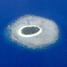 Tropical Fiji island