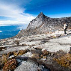 Breath taking view on amazing rocky mountain
