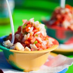 Sample an Authentic Bahamian Conch Salad