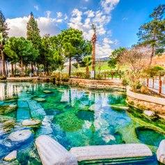 Swim in the Cleopatra Pools
