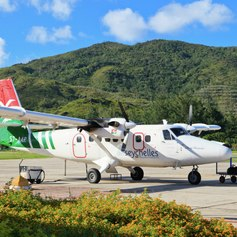 Seychelles airport view