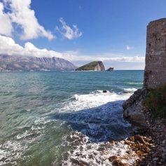 The Ancient Venetian Walls of Old Town Budva