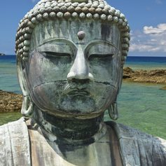 Old statue of Buddha