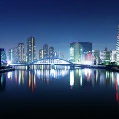 Big Tokyo at night