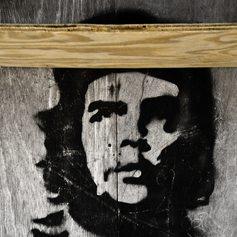 A mural of Che Guevara in Cuba
