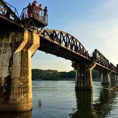 Death Railway Bridge open for tourists
