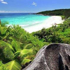 Grand Anse on La Digue island
