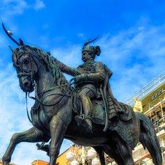 Admire the Statue of Count Josip Jelacic