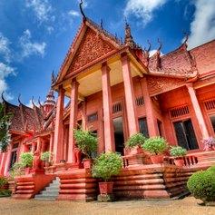 Beautifully designed museum in Cambodia