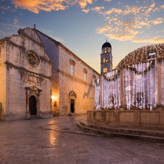 Visit the Fountains of Dubrovnik in Croatia