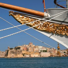 Anchor at the Port of Valletta