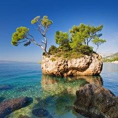 Beautiful Blue Waters of Brela