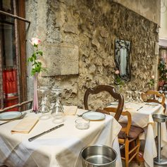 Have lunch on the Rue St Antoine