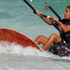 Kitesurfing in Cuba