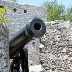 Canon at the old fort
