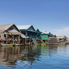 Poor, primitive fishing village